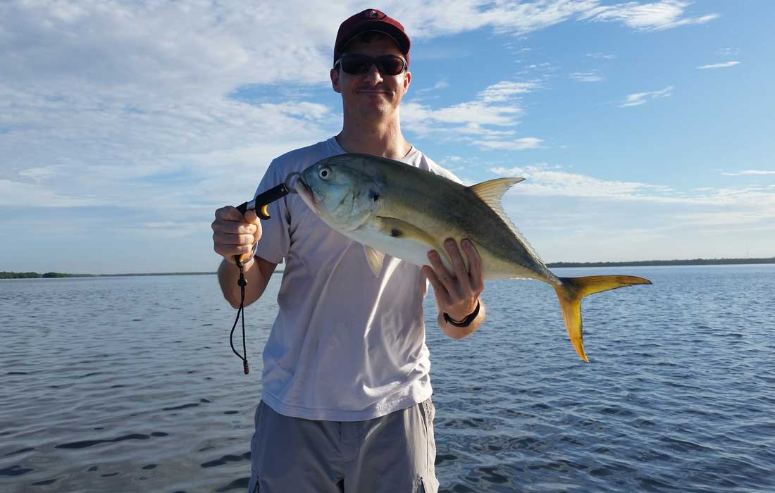 Flats Fishing In Fort Myers For Big Jack Creville