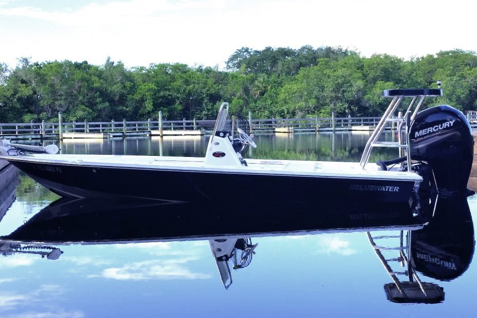 Our Bluewater Custom Flats Boat