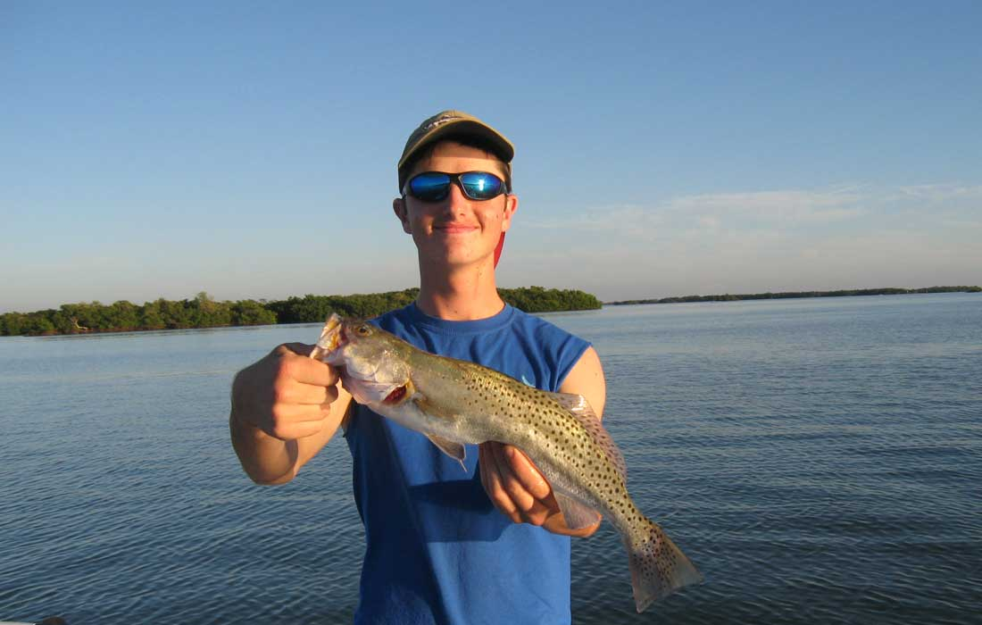 Fort Myers Spec Trout Fishing